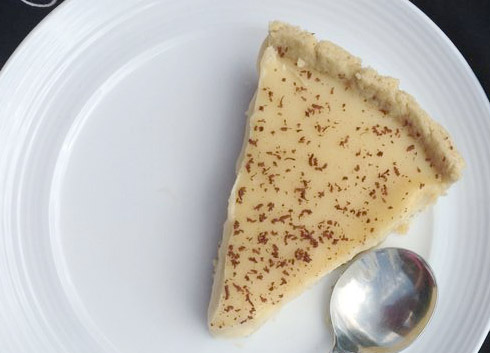 School Dinners Fudge Tart Recipe - LittleStuff
