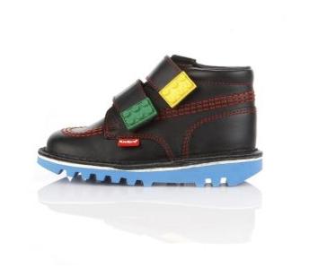 Kickers Lego School Shoes