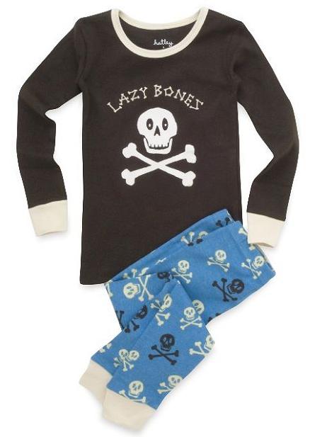 Hatley Skulls Lazy Bones Pyjamas