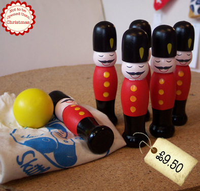 Bestest Christmas Gift Ideas – Wooden Soldier Skittles!