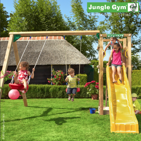 Jungle Gym Tower and Swing from Active Garden