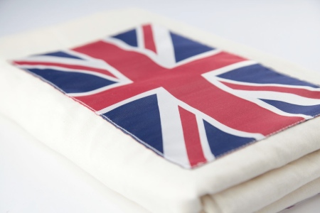 Spotted Union Jack Summer Gauze Baby Wrap Sling Littlestuff
