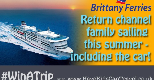 Win your family travel to France this year, courtesy of Brittany Ferries #WinATrip