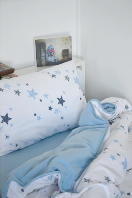 Potato Stars Pattern Duvet from The Quick Brown Fox of Dulwich