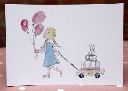Children's Birthday Cards from Little Patch