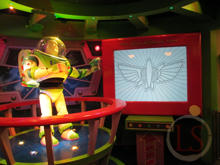 buzz lightyear at disneyland paris 20th 2012