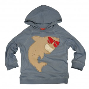 Frugi Shark Hoody from Bumblebee Kids