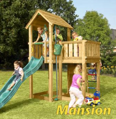 Jungle Gym Mansion Set at Active Garden