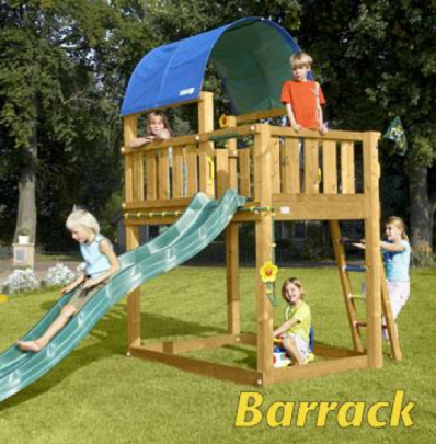 Jungle Gym Barrack Set from Active Garden