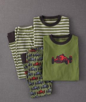 Mini Boden Long John Pyjamas