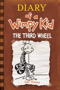 wimpy kid third wheel 2012