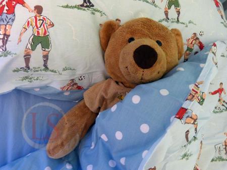 Cath Kidston football bedding