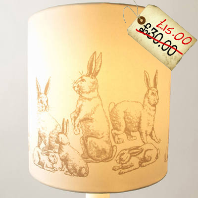 bunny rabbit lamp light shade