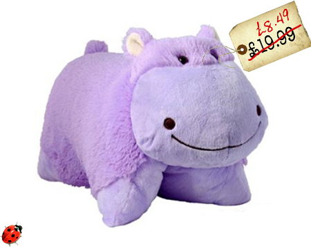 pillow pets hippo