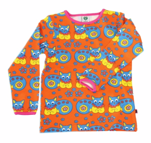 LOVING this cats and flowers tee. Just... brilliant. £18.99, 1-8yrs.