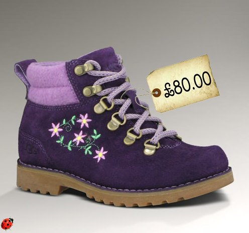girls purple timberland boot