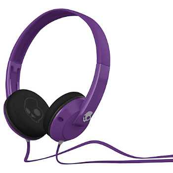 Skull Candy Headphones in purple at John Lewis