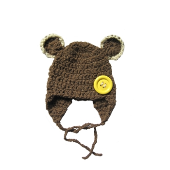 Paddington Teddy Bear Beanie Hat