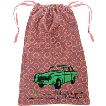 vintage cotton toy storage bag from The Wise House
