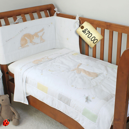 nut brown hare nursery bedding