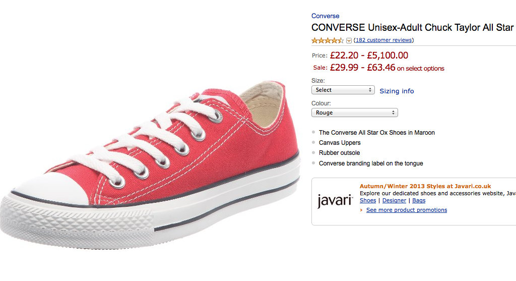 most expensive converse