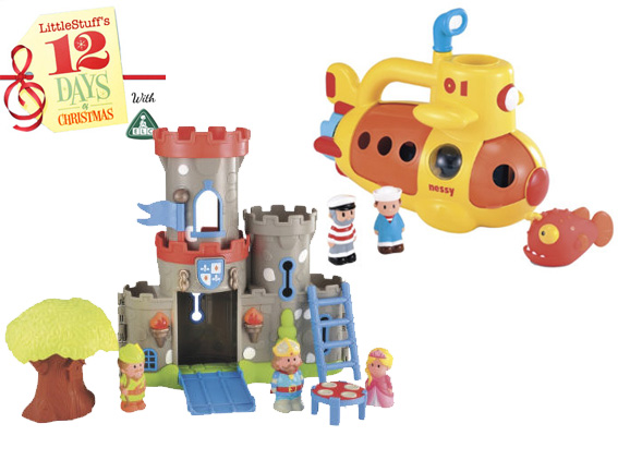 happyland castle submarine