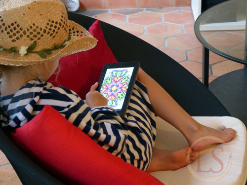The Kaleidoscope Drawing App provided hours of unexpectedly addictive fun for ALL the family