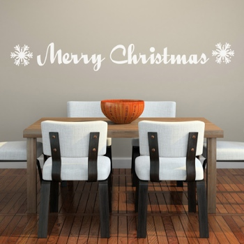 Spin Collective Merry Christmas Wall Sticker