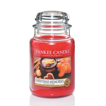 Yankee Candle Christmas Memories Candle