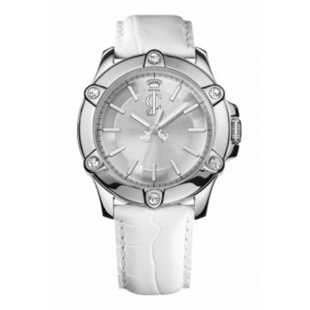 Juicy Couture ladies leather strap watch from Hilliers Jewellers
