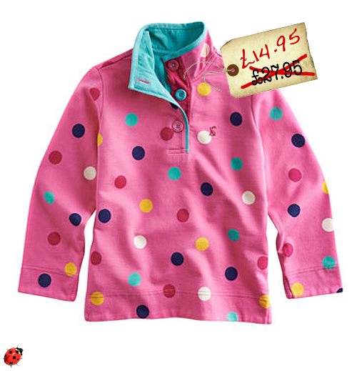 Girls Cowdray Sweat, Candy Spot