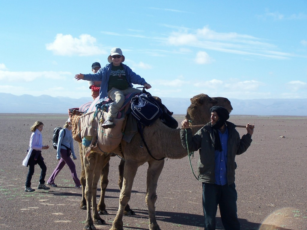 morocca camel safari for families
