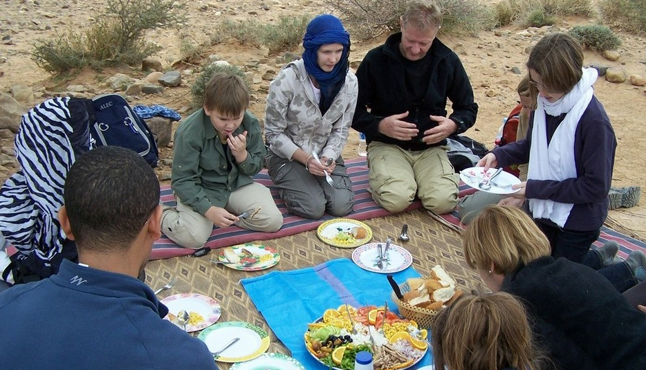 family adventure safari morocco