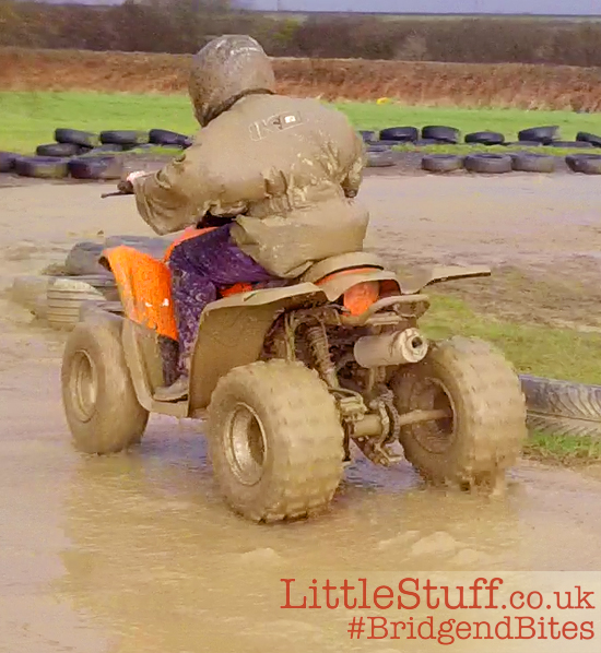 11yr old quad biking wales