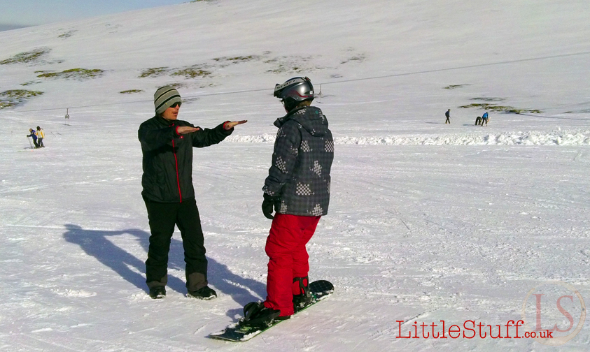 snowboarding lessons Scorland