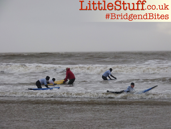 bridgendbites surfing lessons