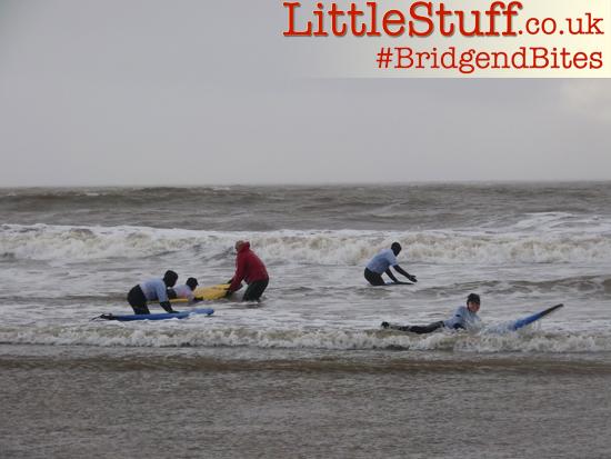 bridgendbites surfing lessons
