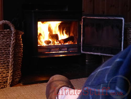holiday home highlands log fire