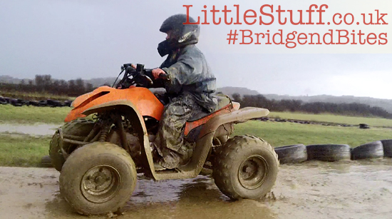quad biking for 7yr old south wales