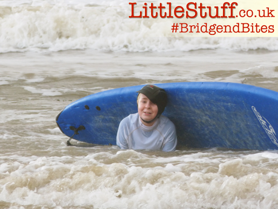 surf lessons for children bridgend
