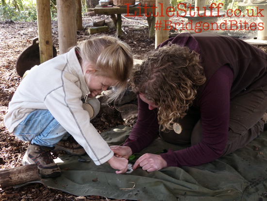 young children bushcraft skills