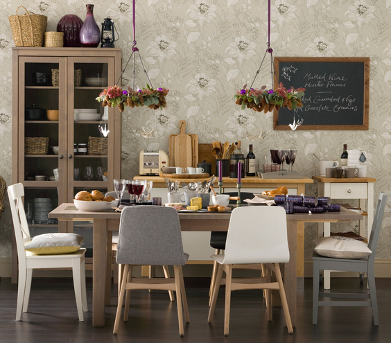 Design Ideas For The Dining Room - Brought To You By John Lewis