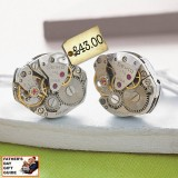 Awesome Vintage Watch Movement Cufflinks – Father's Day Gift Guide