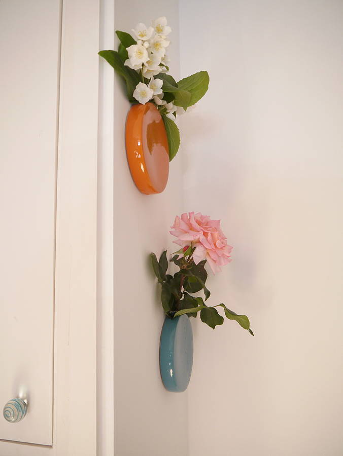 spotted the dot wall vase swoon littlestuff