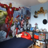 A dramatic child's bedroom makeover in a day – the Dulux Bedroom In A Box Marvel Avengers. It's officially Awesome.