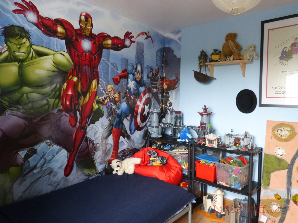 Dulux Marvel Avengers Bedroom In A Box Officially Awesome. Marvel Bedroom