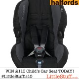 24hrs to win a Maxi-Cosi Priori SPS Child Car Seat worth £110 – Day 9 of our 10th Birthday Bash