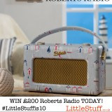 24hrs to win a Limited Edition Roberts Radio worth £200 – it's the Last Day of our 10th Birthday Bash