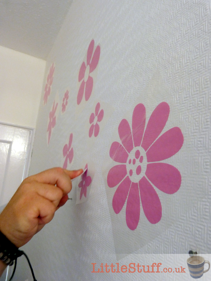 applying-wall-stickers