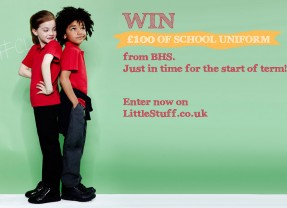 New Competition – Win £100 of School Uniform with BHS!